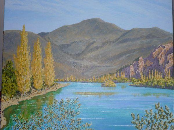 Waitaki River - Benmore  y  Dave Thomas