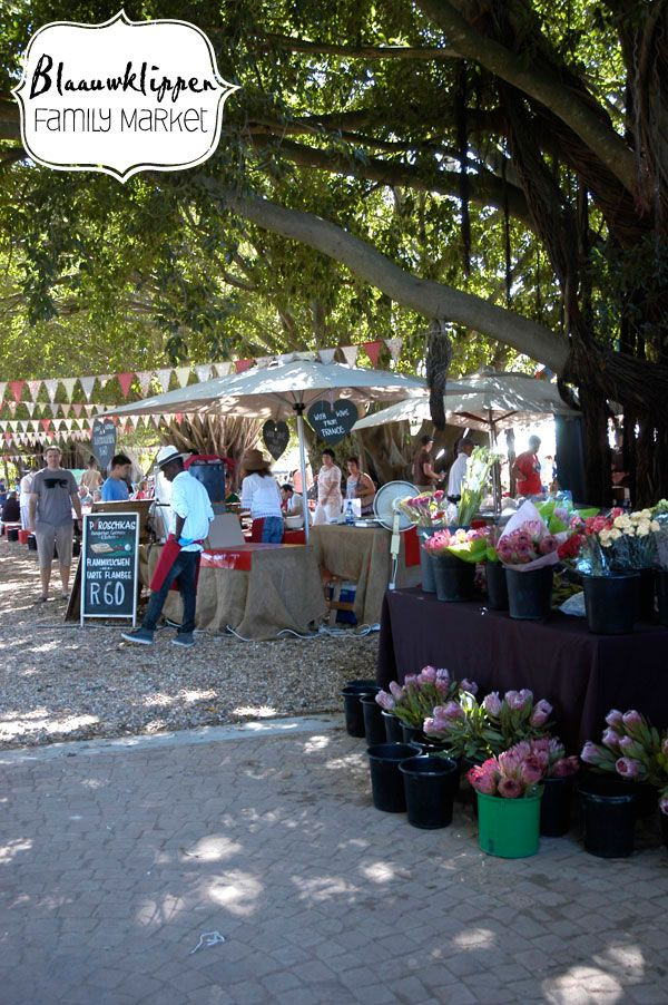 Blaauwklippen Family Market - Stellenbosch Slow Market in South Africa.