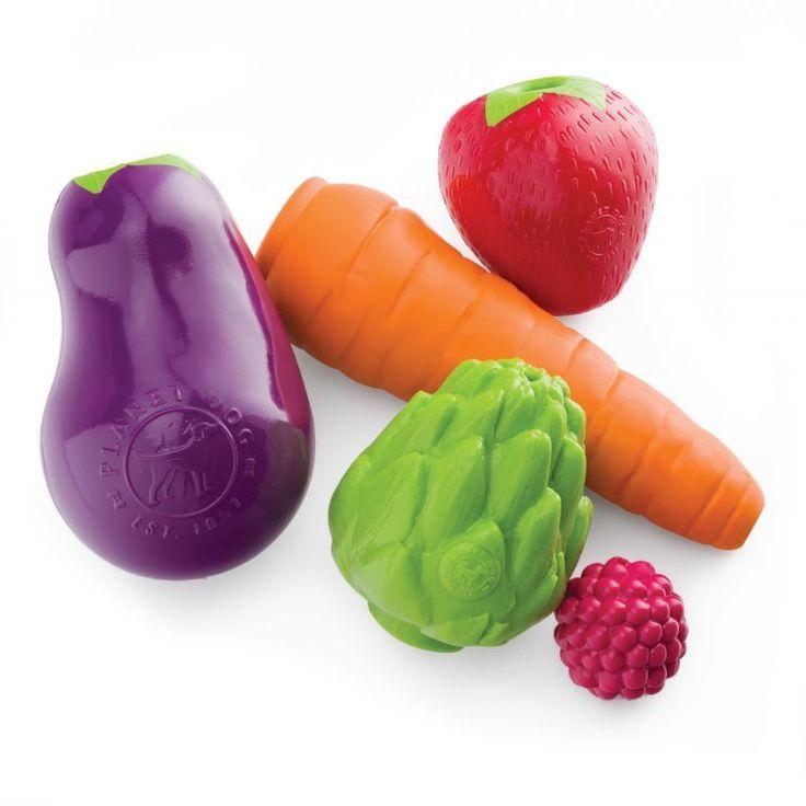 PLANET DOG Orbee-Tuff® PRODUCE with Treat Spotプラネットドッグ オービータフ プロデュース(野菜と果物デザインのシリーズ)アメリカの大人気ペット用…
