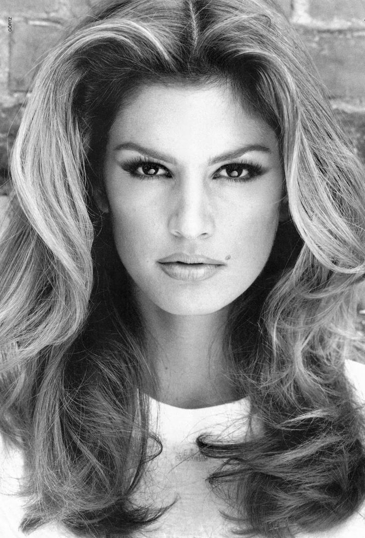 "Cynthia Ann ""Cindy"" Crawford was born on February 20, 196. She is an American model and is known for her trademark mole just above her lip. She has been in hundreds of magazine covers throughout her career."