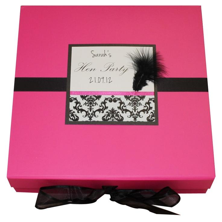 Hen night memory box!! Great idea!!