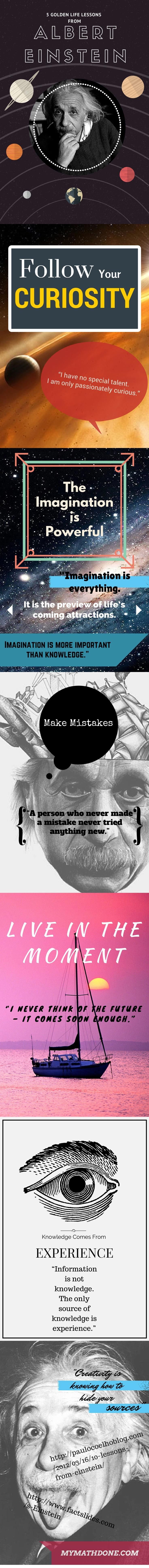 Famous Einstein quotes abound online. But – Einstein never said most of them! Here's a fun infographic of real Einstein quotes and the life lessons gleaned. Click through to the blog to learn which Einstein quotes are fake!