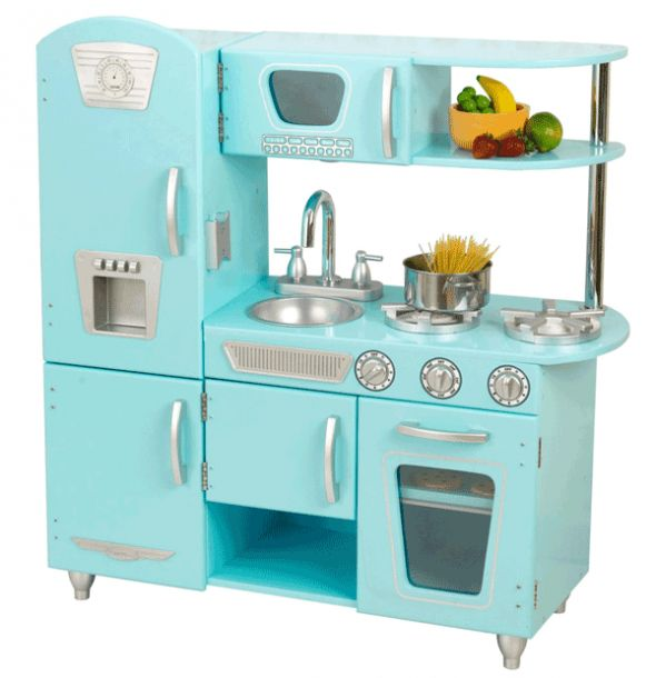 Tiffany Blue Kitchen Set!