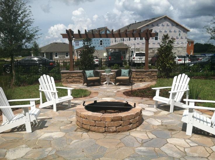 Nice backyard look in Trinity Florida!