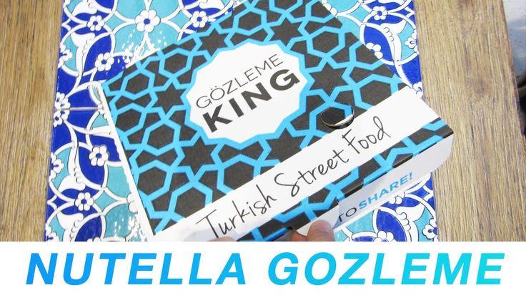 How to make #Nutella #Gozleme ft. Gozleme King   Meet Chris
