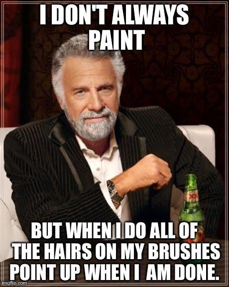 Brushes...