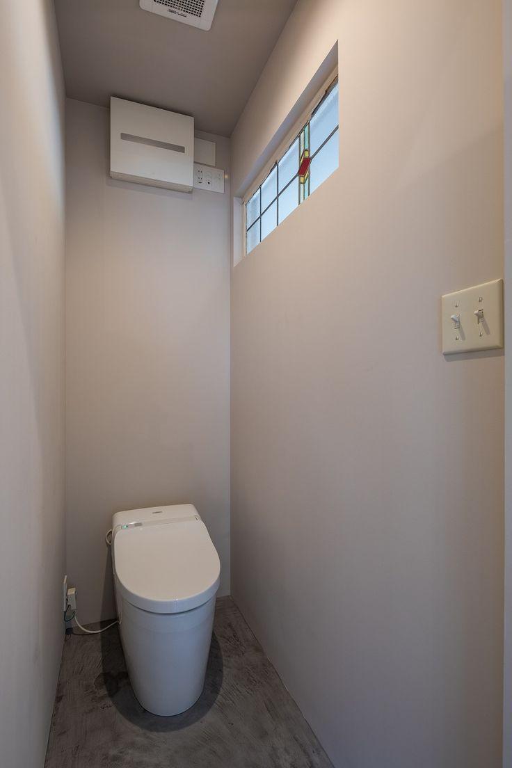 ENJOYWORKS/エンジョイワークス/renovation/リノベーション/toilet/トイレ/水栓/ボウル/壁紙/手洗器/SKELTONHOUSE/スケルトンハウス