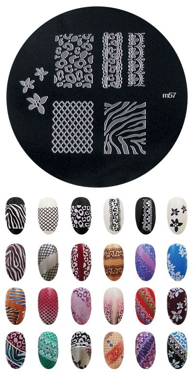 Konad m57 nail art ideas