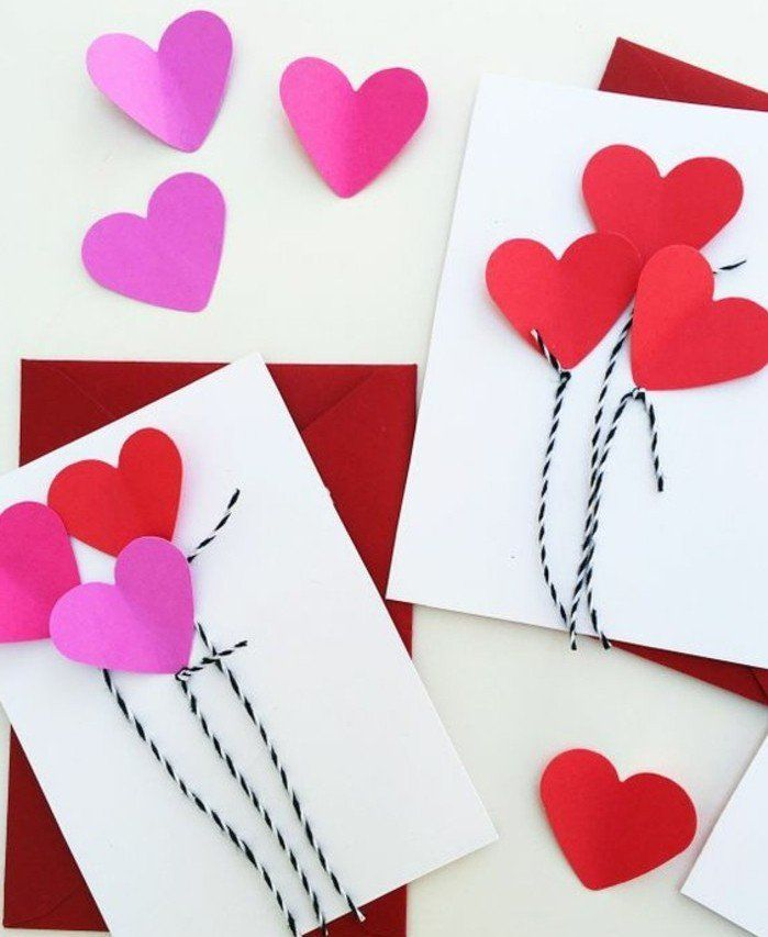 les 25 meilleures id es de la cat gorie carte saint valentin sur pinterest bricolage carte. Black Bedroom Furniture Sets. Home Design Ideas