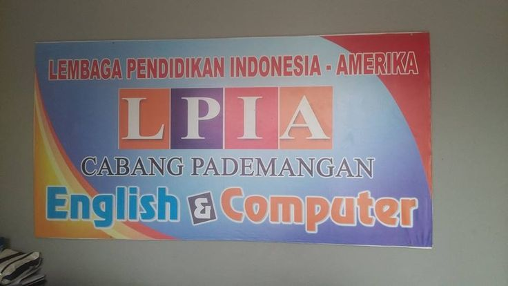 LPIA PADEMANGAN kursus bahasa Inggris dan kursus Komputer:  Jl. BUDI MULIA RAYA   Ruko King No. 8K,   PADEMANGAN Barat   JAKARTA UTARA   (DEPAN SD 07/08 PADEMANGAN)  14420 Telp. 021-46214041