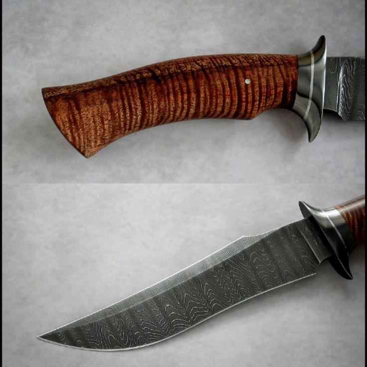 Nemesis #koa #damascus #blade #knife #handmade #knifemaking #custom #knifepics #knifeporn #hunting #collection #hiking #travel #trapper #edc #bushcraft #rifle #gentleman #gift #menstyle #jewelry #luxury #cigar #whisky #club #noble #nature #explore #life #treasure