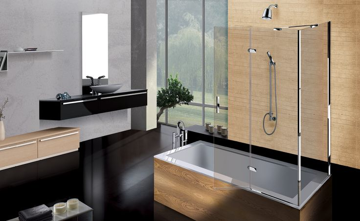 SERIES 1000 - PARATIE VASCA - BATH TUB SCREENS www.boxdocce2b.com