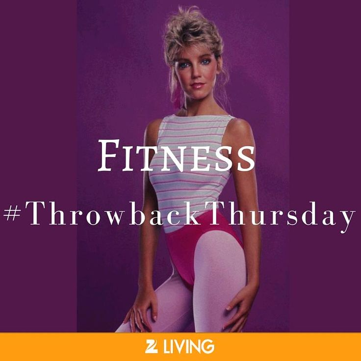 How's this for a #TBT? #ThrowbackThursday #Aerobics #Spandex