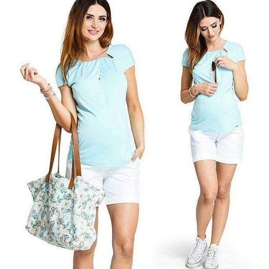 Lemonade halványzöld póló a már a Happymumshop kínálatában is. #fashion #sun #maternity #kismamadivat
