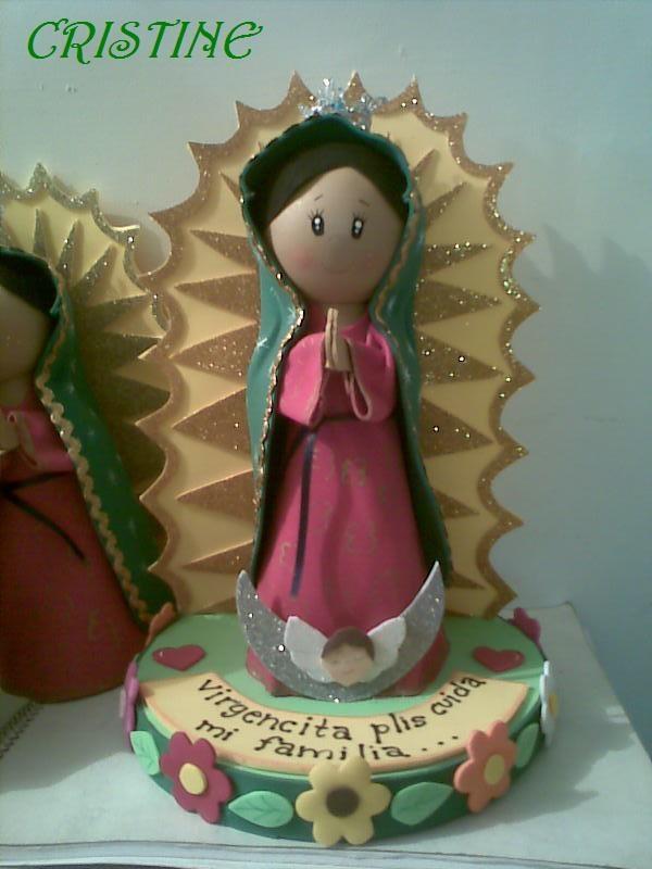 Virgencita fofuchaGoma Eva