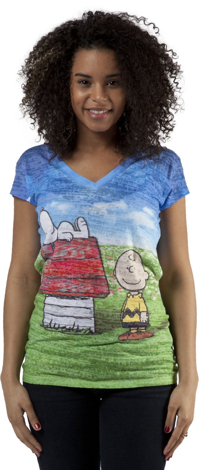 Charlie Brown and Snoopy Shirt