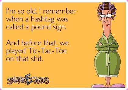 # pound sign