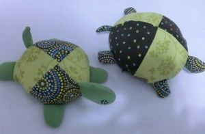 DIY baby toy turtle (maybe bigger for pillow)