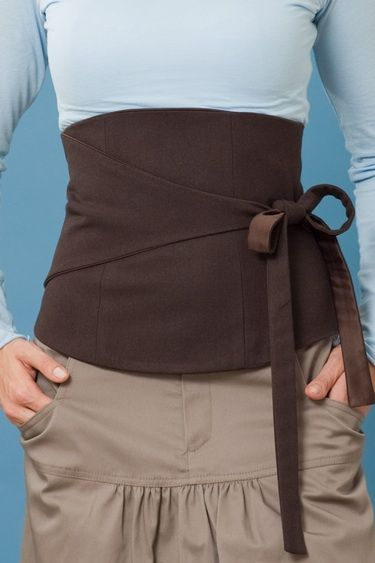 corset belt. It'd be nice for a Core Elf in the Echoes of Decide LARP I'm in. :)