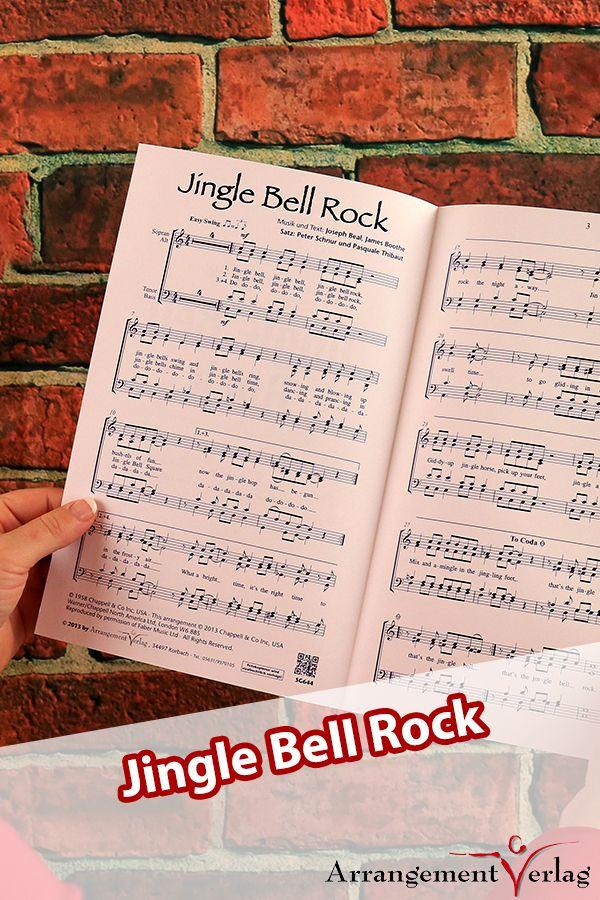 Jingle Bell Rock für gemischten Chor ✓ Die bekannteste Version ...