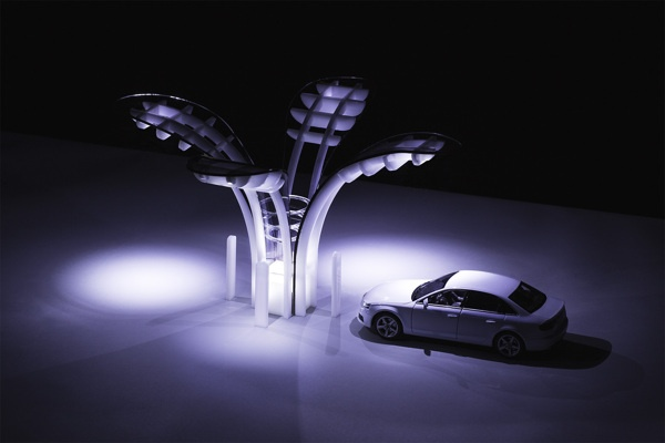 Electric Vehicle Charging Station by Chris Yoon