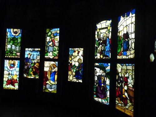 Antelli provenienti dalla vetrata dell'Apocalisse e dalla vetrata di San Giovanni Battista