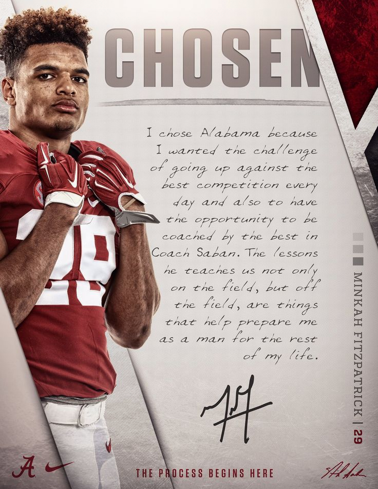 Challenge Accepted. Minkah Fitzpatrick on why he chose to be Built By Bame.