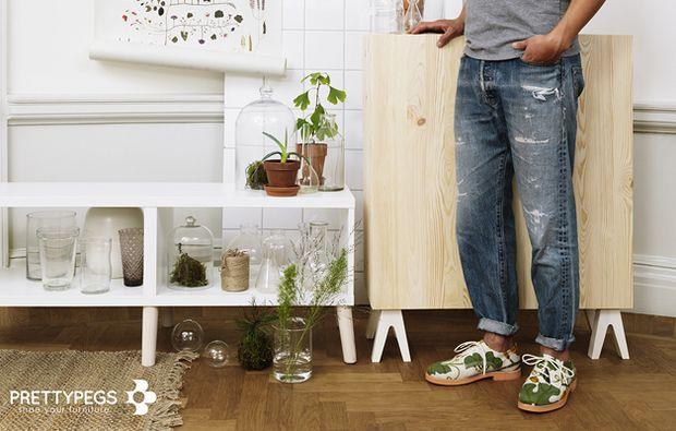 Piedini super trendy per i mobili Ikea!  Eureka!  Pinterest  Ikea