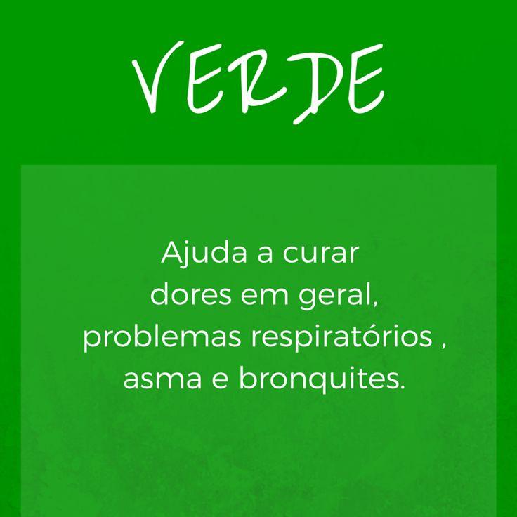 Cromoterapia: Verde