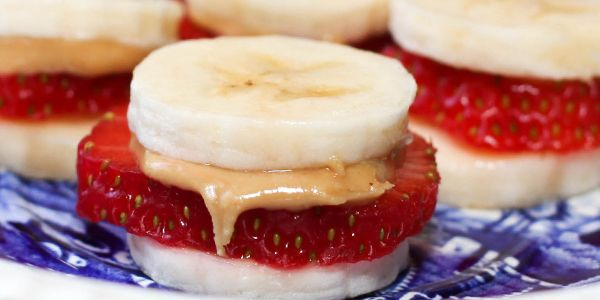 "Low Carb Sandwich #3: Peanut Butter and ""Jelly"" Snacks » WickedStuffed Keto Blog"