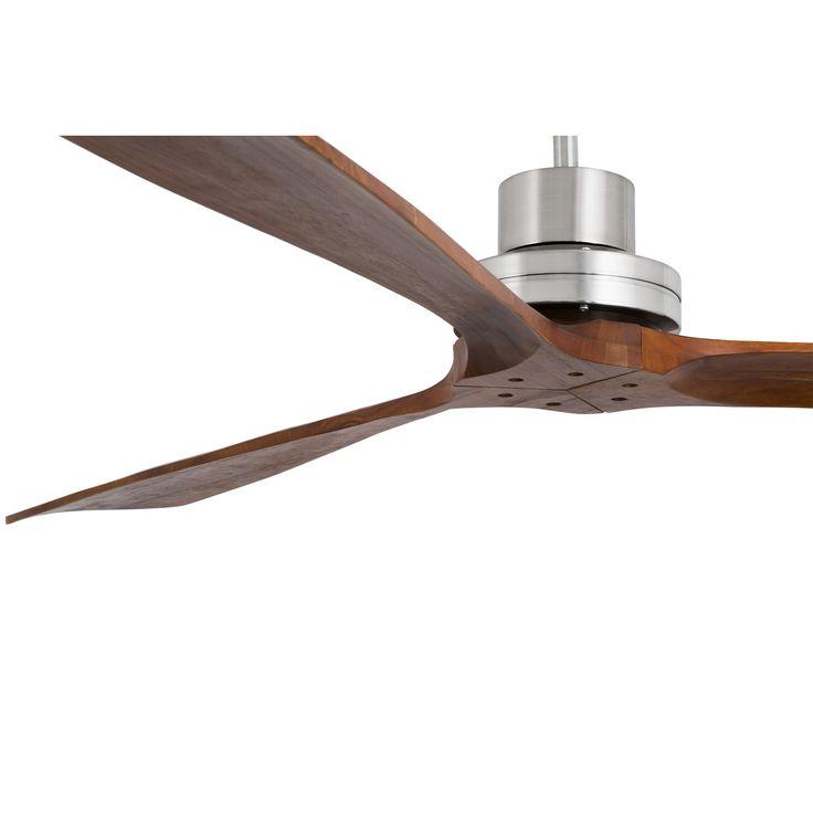 Ventilador de techo Extra-grande Lantau-G 33464 nogal oscuro sin luz Ø 1680 de Faro [33464] - 376,26€ :
