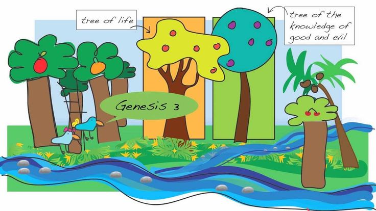Creation for Kids - Genesis 3, part 1, Adam and Eve Disobey God