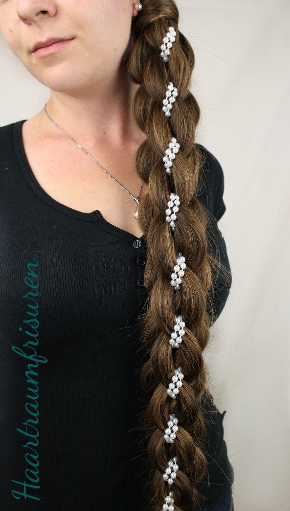 Intricate Five Strand Braid mit Perlen