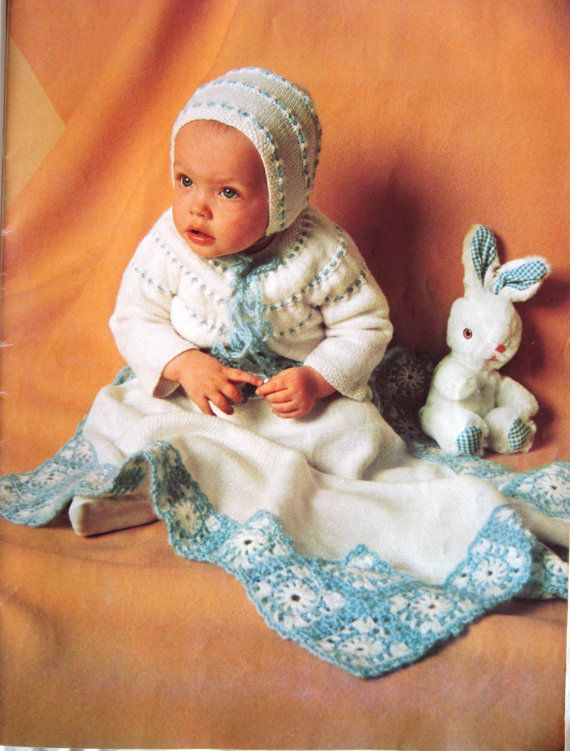 Beautiful Baby Book Patterns for Infants to by RuthsGreenTreasures