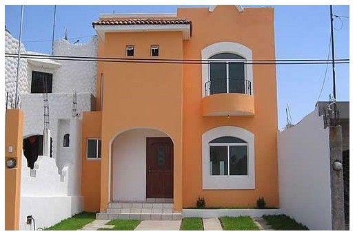 Colores Para Pintar Fachadas De Casas Pequenas Fachada De Casa Exteriores De Casas Colores Para Casas Exteriores