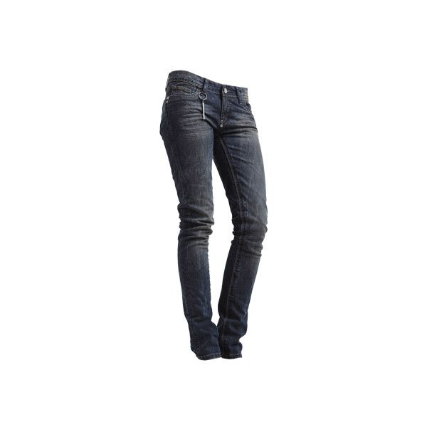BLACK PEARL Röhrenjeans in aufwändiger Vintage-Optik ($97) ❤ liked on Polyvore featuring jeans, pants, bottoms and calças