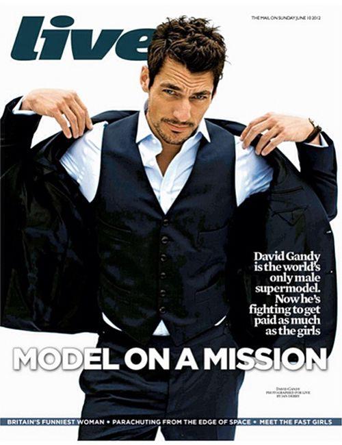 David Gandy for 'Live Magazine' (June 2012) ~ David James Gandy
