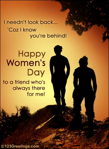 happy women's day quotes | Happy Women's Day! to a Friend