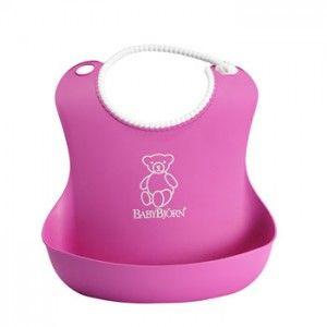 Baby Bjorn-Soft Bib-Pink