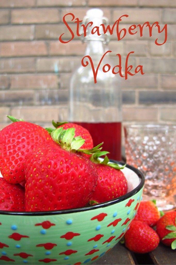 Happy Hour: Strawberry Vodka, Kiku Corner