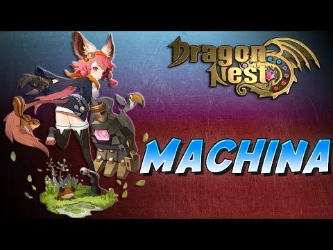 Dragon Nest: Machina - New Class Trailer