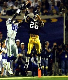 Steelers Rod Woodson vs Cowboys Michael Irvin Super Bowl XXX (1996)