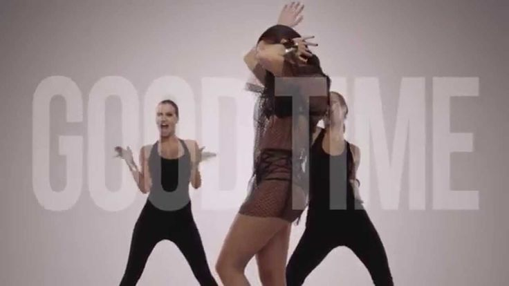 """INNA ft. Pitbull: Good Time: Lyric Video - A lyric video in theory as it has (most of) the lyrics come across the screen during it...however it has more to it than your average lyric video as the artist (INNA) is dancing throughout the entire video. INNA and her backup dancers looked like they took the title of the song to heart as they all looked like they had a """"Good Time"""" while filming this."""