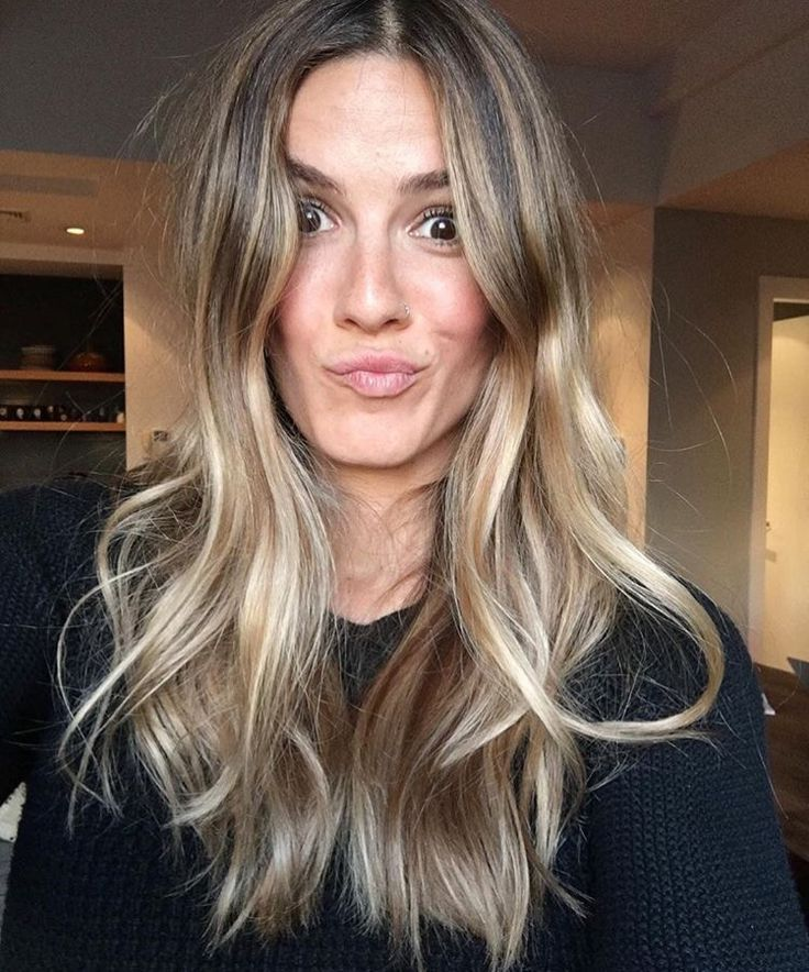 Trendy Hair Highlights : Blonde