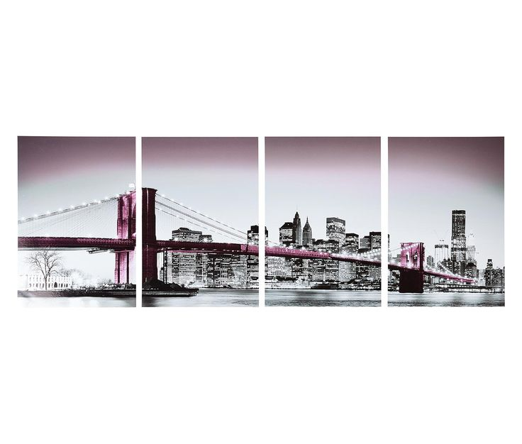 "Duvar Etiketi ""Brooklyn Köprüsü"" 310843 | Tchibo.com.tr"