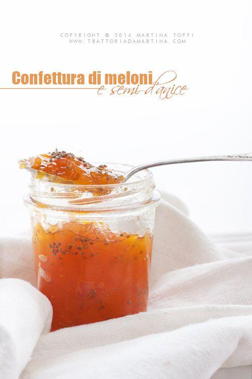 Trattoria da Martina - cucina tradizionale, regionale ed etnica: Confettura di melone e semi di anice con etichette... | trattoriadamartina |