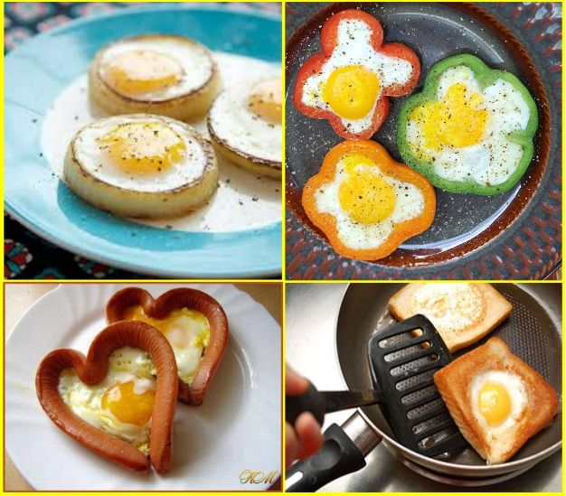Creating with eggs
