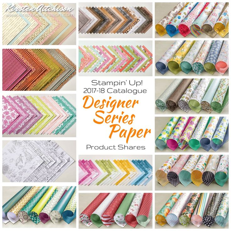 Kirsten Aitchison   2017-18 Stampin' Up! Annual Catalogue Product Shares   Click to find out more   #kirstenaitchison #productshares #designerseriespapershares #dspshares #crazycrafters #stampinup