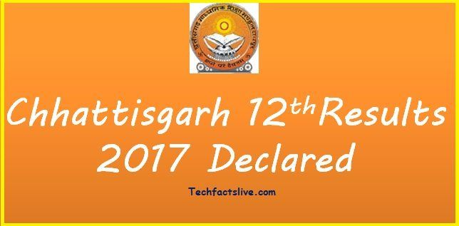#Chhattisgarh Higher Secondary #intermediateResults 2017 Available Here https://techfactslive.com/cgbse-12th-result-2017-released-chhattisgarh-results-cg-nic-in/23469/ Check #cgbse #result 2017