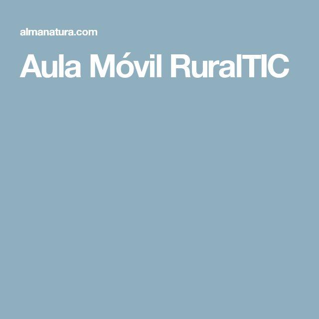 Aula Móvil RuralTIC